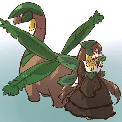 pokemon sprites and images Tropius