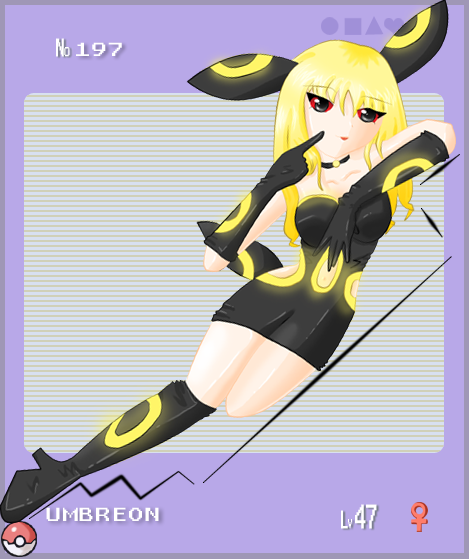 pokemon sprites and images UmbreonGirl