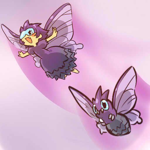pokemon sprites and images Venomoth