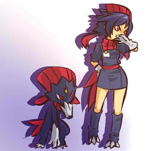 pokemon sprites and images Weavile