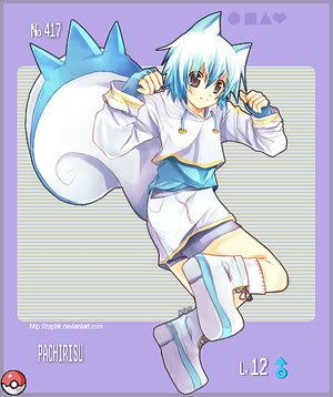 pokemon sprites and images __PKMN_417__Pachirisu_by_Pokedex