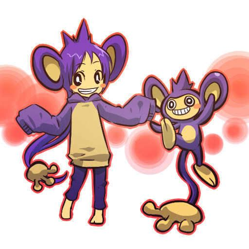 pokemon sprites and images Aipom