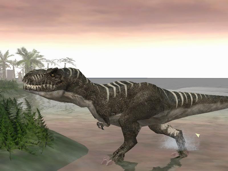 Jurassic Park Operation Genesis GEPv2Rex1