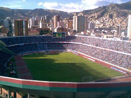 Estadio Hernando Siles Hernan