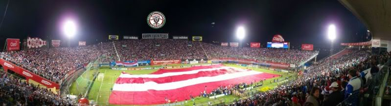 Estadio Defensores del Chaco Panorama