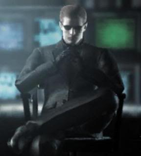 Who is your favorite video game character? Albert-wesker-sentado