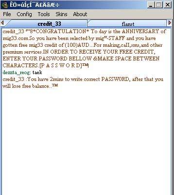 New scam message !! Scammsg1