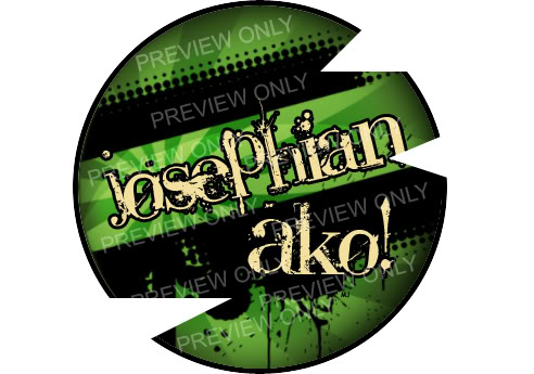 """Josephian Ako!"" buton pins for sale Untitled-1"