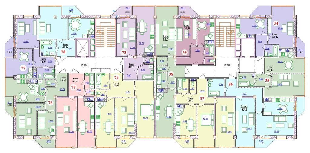 Изменения в метраже и планировках квартир %20
