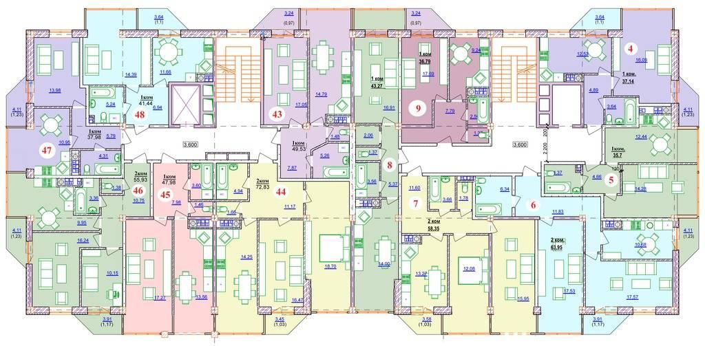 Изменения в метраже и планировках квартир %20_1