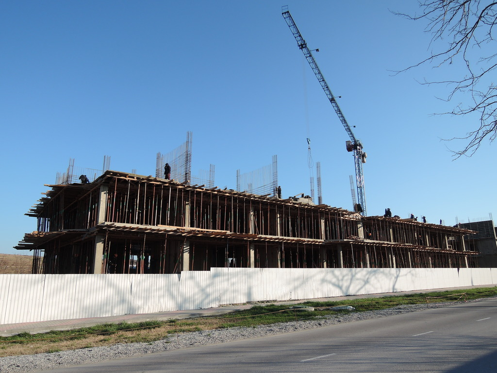 Фото со стройки - 1 очередь строительства DSCN5552