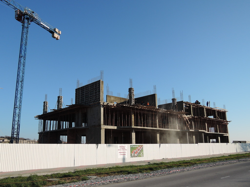 Фото со стройки - 1 очередь строительства DSCN5557