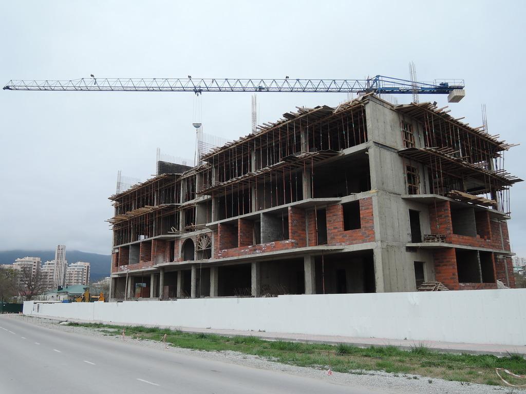 Фото со стройки - 1 очередь строительства DSCN5654