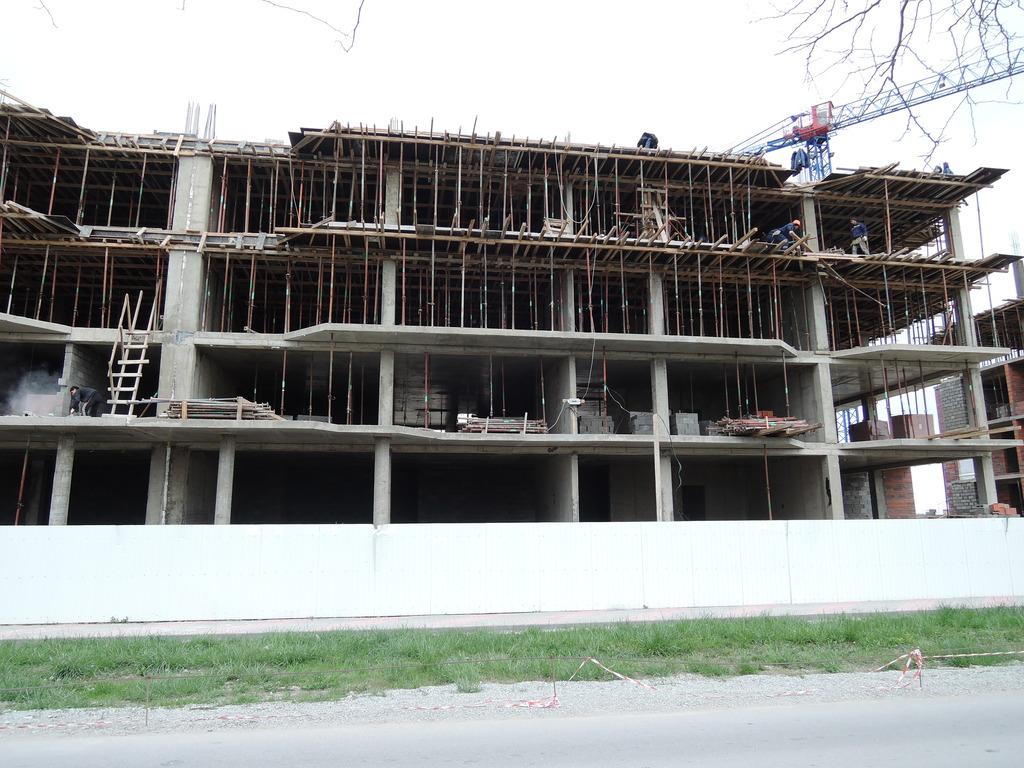 Фото со стройки - 1 очередь строительства DSCN5657