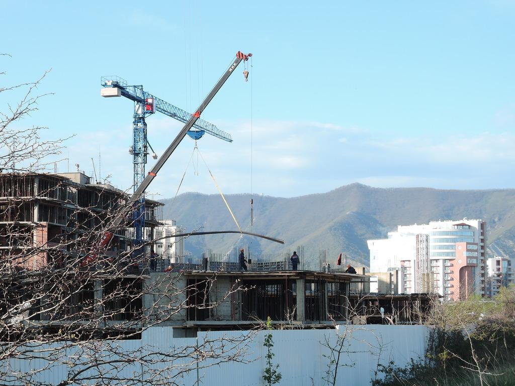 Фото со стройки - 1 очередь строительства DSCN5750