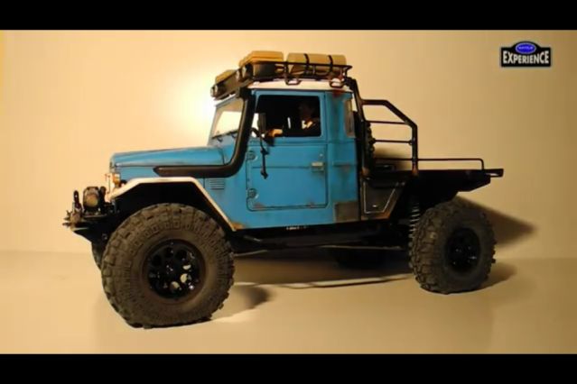 toyota - TOYOTA Land Cruiser FJ40 on AXIAL SCX 10 Chassis  Null-23