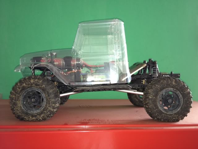 toyota - TOYOTA Land Cruiser FJ40 on AXIAL SCX 10 Chassis  Null-31