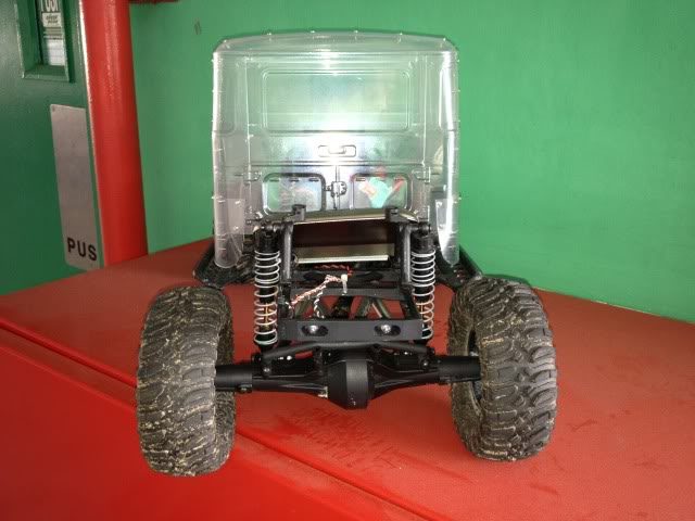 toyota - TOYOTA Land Cruiser FJ40 on AXIAL SCX 10 Chassis  Null-34
