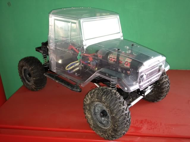 toyota - TOYOTA Land Cruiser FJ40 on AXIAL SCX 10 Chassis  Null-35