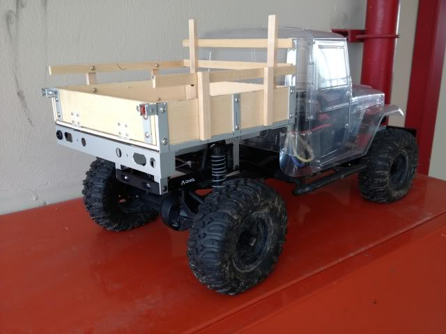 toyota - TOYOTA Land Cruiser FJ40 on AXIAL SCX 10 Chassis  Null-38