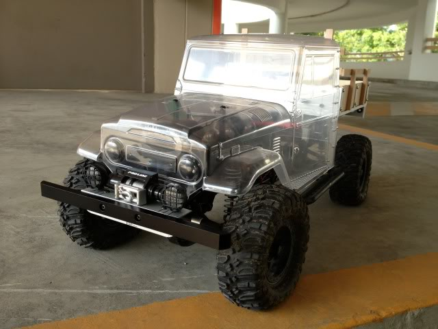 toyota - TOYOTA Land Cruiser FJ40 on AXIAL SCX 10 Chassis  Null-40