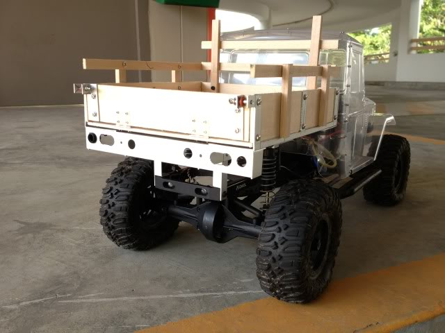 toyota - TOYOTA Land Cruiser FJ40 on AXIAL SCX 10 Chassis  Null-41