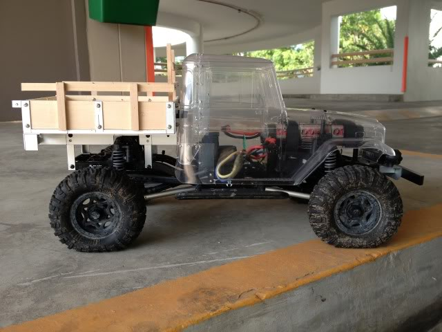 toyota - TOYOTA Land Cruiser FJ40 on AXIAL SCX 10 Chassis  Null-42