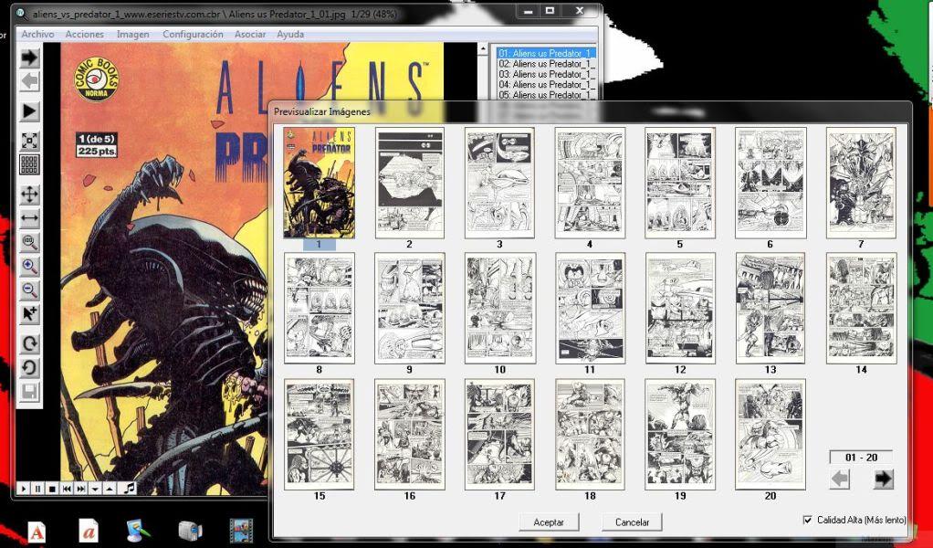 Programas para leer Comic y Mangas GonVisor2