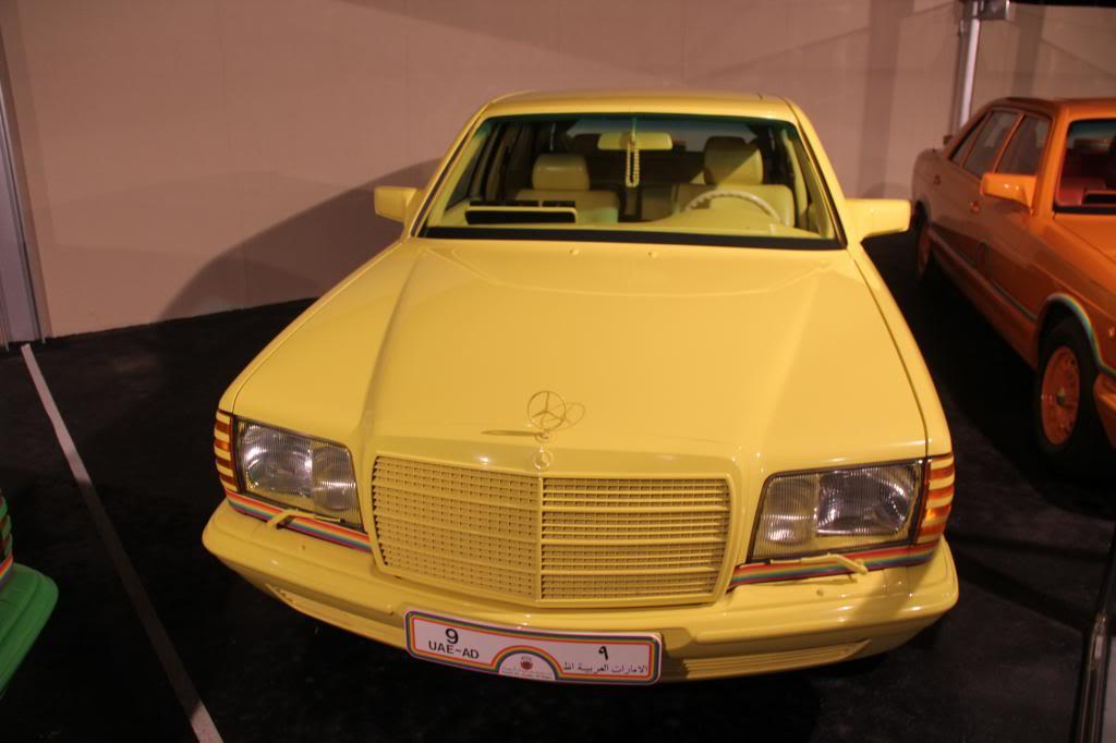 """(HISTÓRIA): Emirates National Auto Museum - Coleção de W126 (500SEL) """"Diferentes"""" IMG_2599_zpsb7a87ba7"""