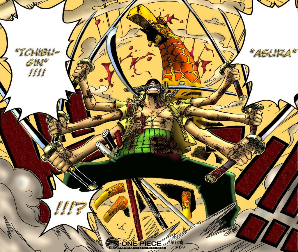 One Piece :D Zoro_Asuracolor