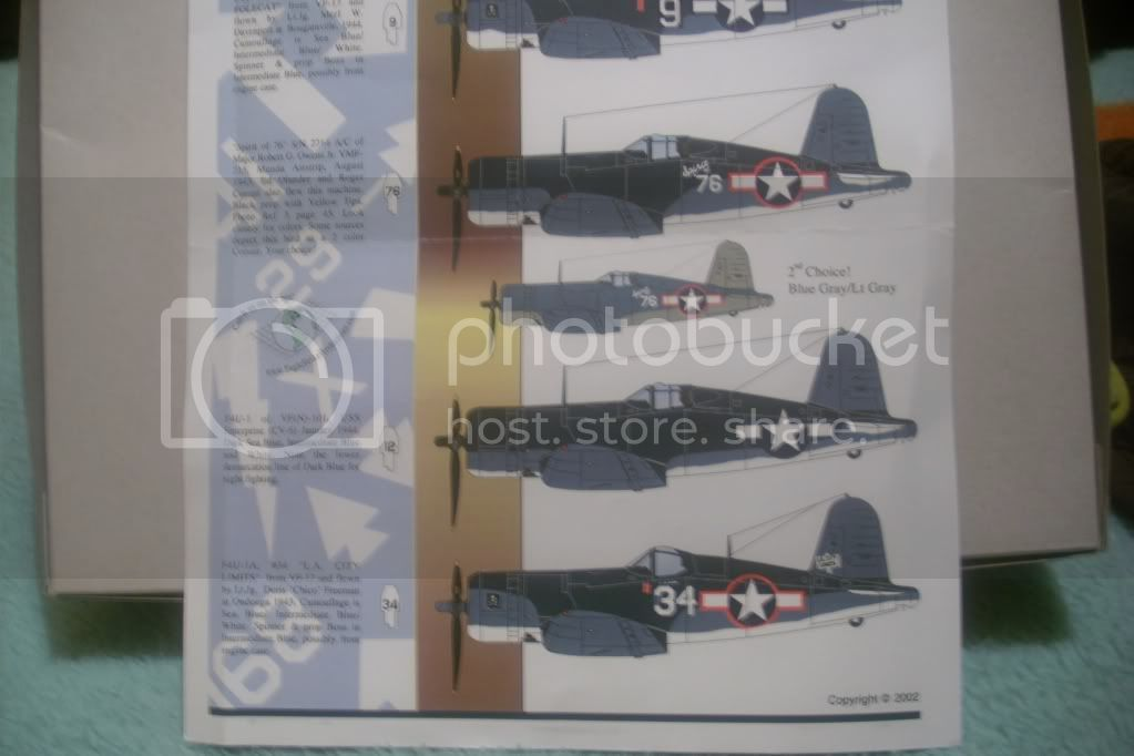 Corsair F4U-1A Tamiya DSCI0994