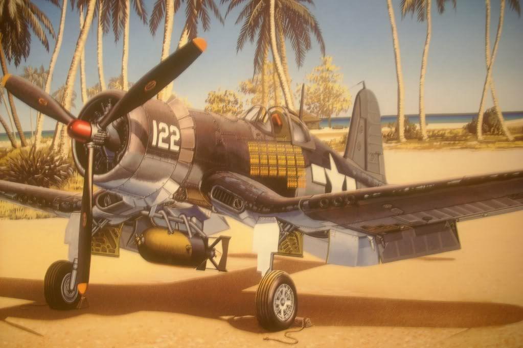 Corsair F4U-1A Tamiya DSCI0997