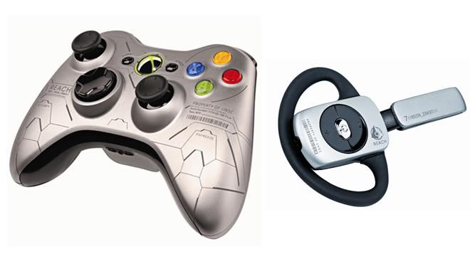 Halo Reach Xbox 360s Bundle Announced Controller_headset