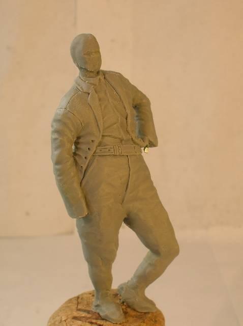 GB, général F. Barlow, création 70 mm Le retour... DSCN9242