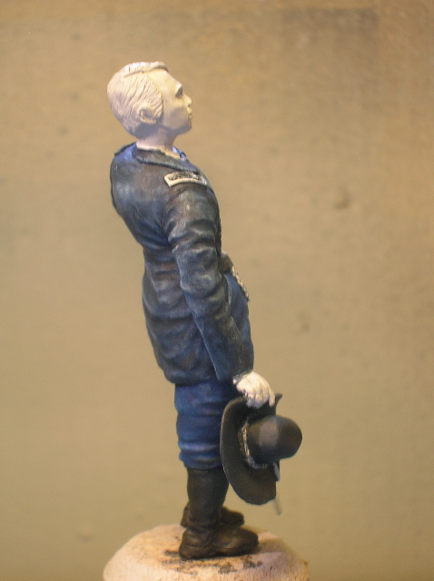 FIG maison:US civil war Gal F. BARLOW  [70mm Sculpey Firm] Début de la couleur... DSCN9482