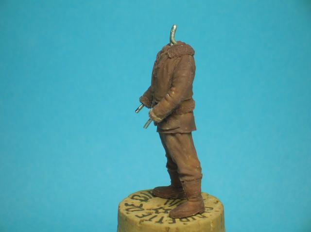 Pilote RAF WW2, 54 mm, sculpture, tirage résine et peinture. 35_zps818fe303