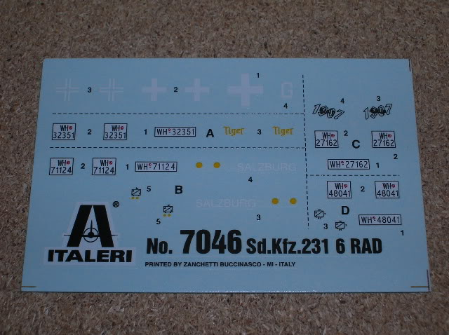 SdK.Fz 231 6-rad [Italeri, 1/72] MAJ 23/09/15  pose des décals DSCN0105