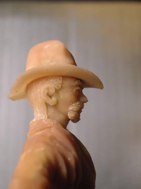 Wild West gunman, [75 mm, Super Sculpey] MAJ 15/06/12 PHOTO A L'ANCIENNE DSCN1001