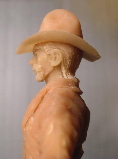 Wild West gunman, [75 mm, Super Sculpey] MAJ 15/06/12 PHOTO A L'ANCIENNE DSCN1002
