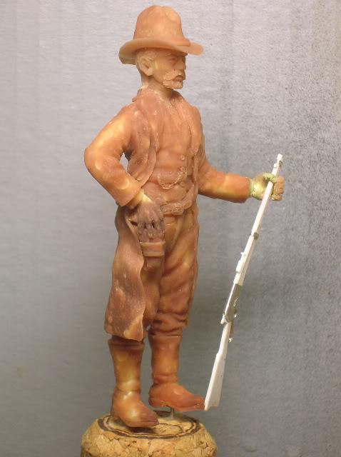 """Wild West Gunman, Figurine """"maison"""" 90 mm MAJ 15/06/12 TERMINEE DSCN1068"""