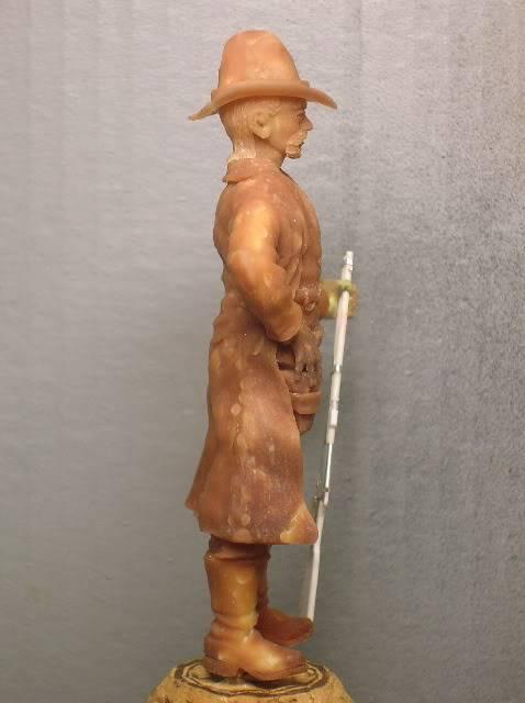 """Wild West Gunman, Figurine """"maison"""" 90 mm MAJ 15/06/12 TERMINEE DSCN1069"""