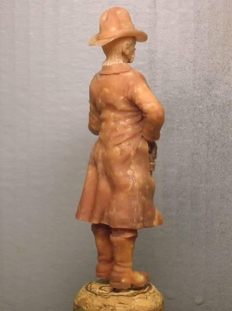 """Wild West Gunman, Figurine """"maison"""" 90 mm MAJ 15/06/12 TERMINEE DSCN1070"""