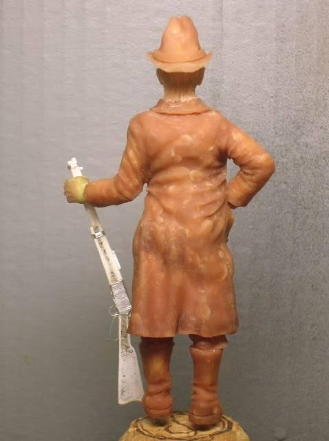 """Wild West Gunman, Figurine """"maison"""" 90 mm MAJ 15/06/12 TERMINEE DSCN1071"""