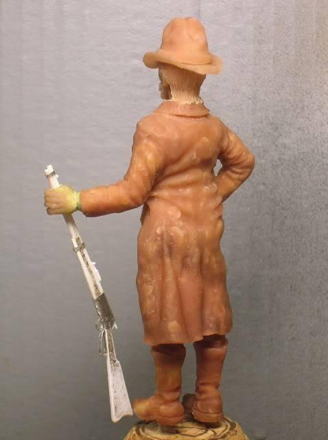 """Wild West Gunman, Figurine """"maison"""" 90 mm MAJ 15/06/12 TERMINEE DSCN1072"""