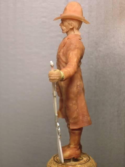 """Wild West Gunman, Figurine """"maison"""" 90 mm MAJ 15/06/12 TERMINEE DSCN1073"""