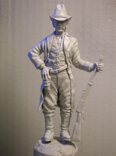 """Wild West Gunman, Figurine """"maison"""" 90 mm MAJ 15/06/12 TERMINEE DSCN1087"""