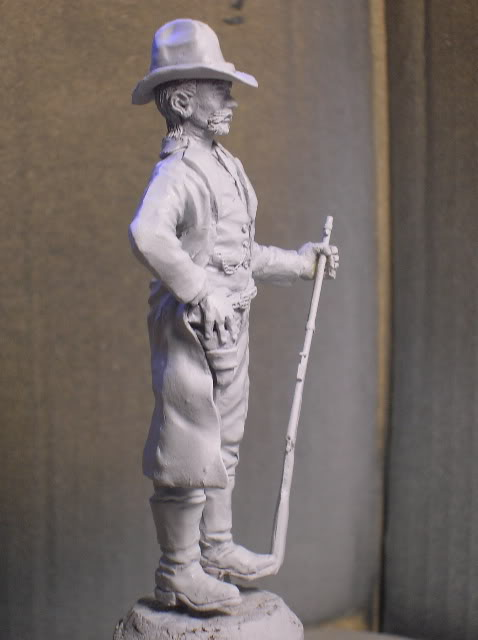 """Wild West Gunman, Figurine """"maison"""" 90 mm MAJ 15/06/12 TERMINEE DSCN1089"""
