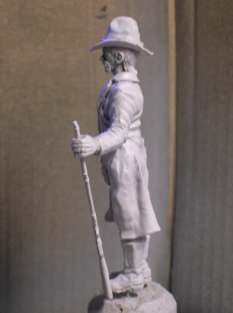 """Wild West Gunman, Figurine """"maison"""" 90 mm MAJ 15/06/12 TERMINEE DSCN1090"""