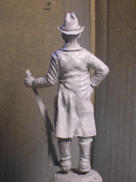 """Wild West Gunman, Figurine """"maison"""" 90 mm MAJ 15/06/12 TERMINEE DSCN1091"""