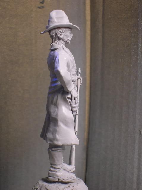 """Wild West Gunman, Figurine """"maison"""" 90 mm MAJ 15/06/12 TERMINEE DSCN1092"""